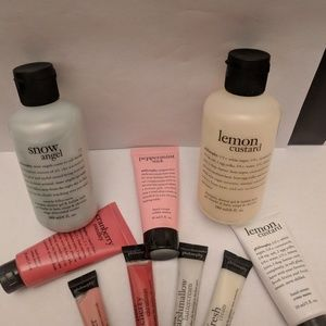 Bath and Shower Products from Philosophy.w/ bonus